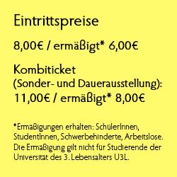 Eintrittspreise