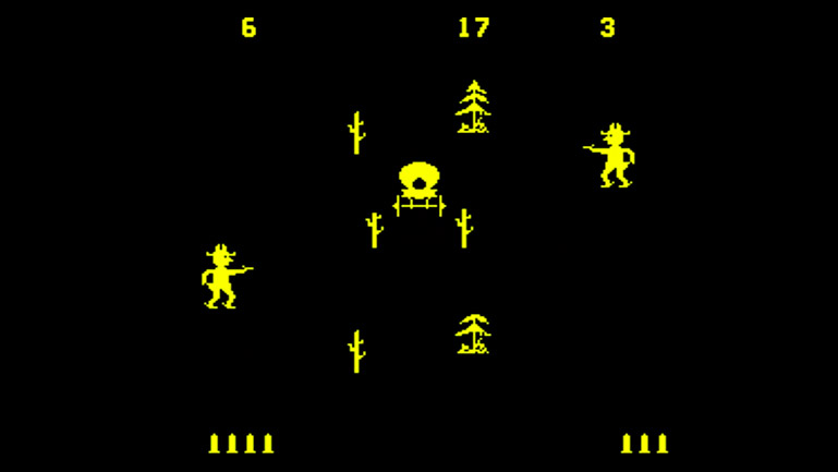 Gunfight (Midway Games, 1975)
